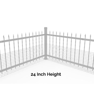 Wide Gap Fence Dog Barrier Kit - 100'