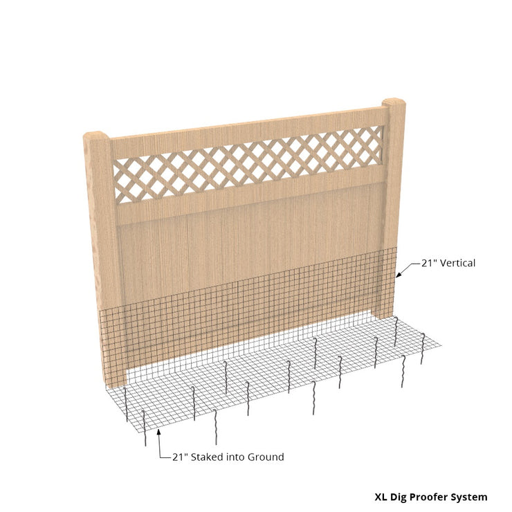 Dogs Digging Under Fence Kit
