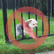 Wide Gap Fence Dog Barrier Kit