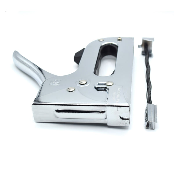 Heavy Chrome Stapler - Accepts up to 14mm Staples with Tension Nob by Citadel Tools