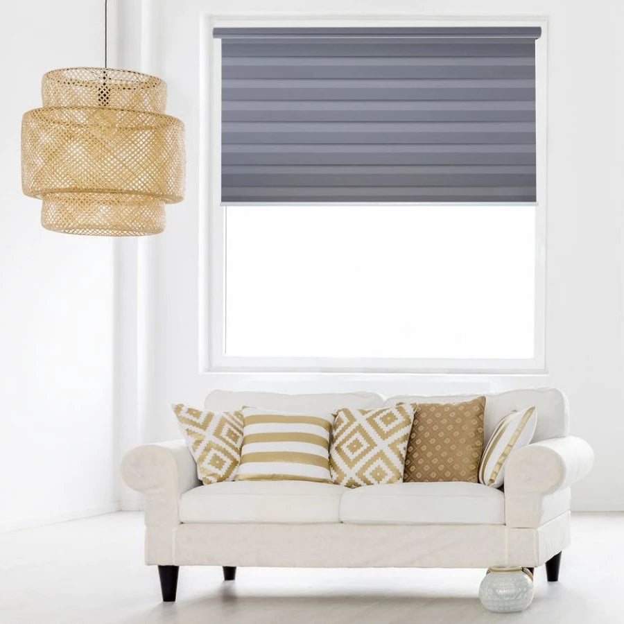Z-BJ04 Elephant Bijou Premium Blackout Zebra Shades Blinds