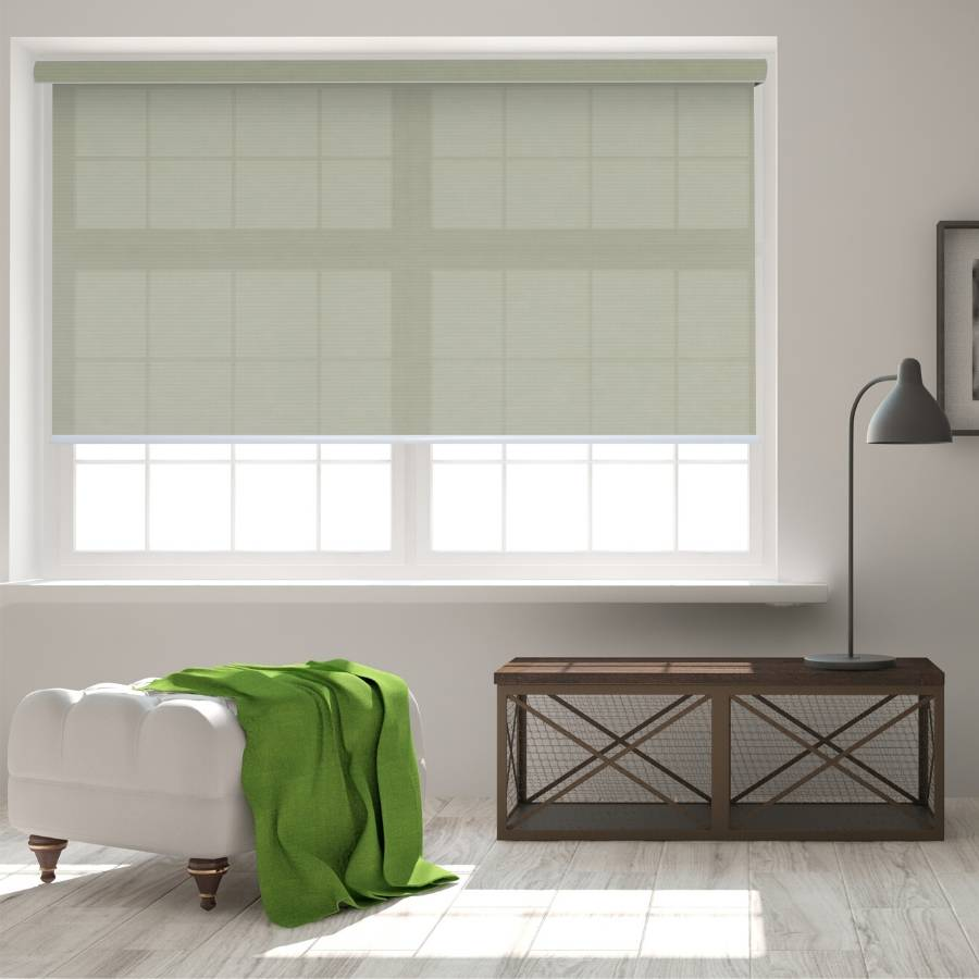 B-SC02 Green Sacco Light Filtering Roller Shades Blinds
