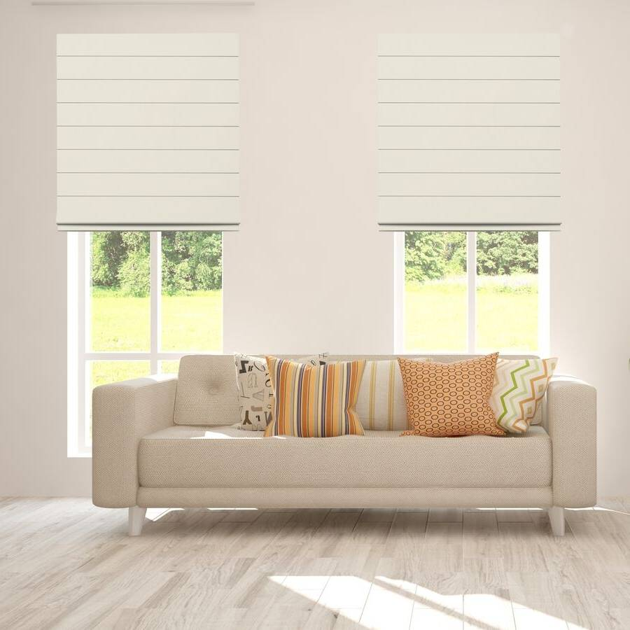 B-BJ05 Beige Bojan Blackout Roman Shades Blinds