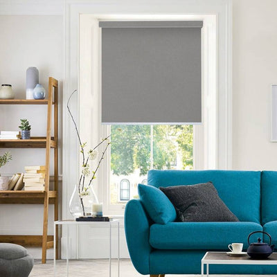 B-CB02 Dark Green Cuba Classic Fabric Roller Shades Blinds