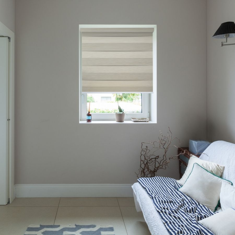 Z-BN05 Gold Beno Blackout Zebra Shades Blinds