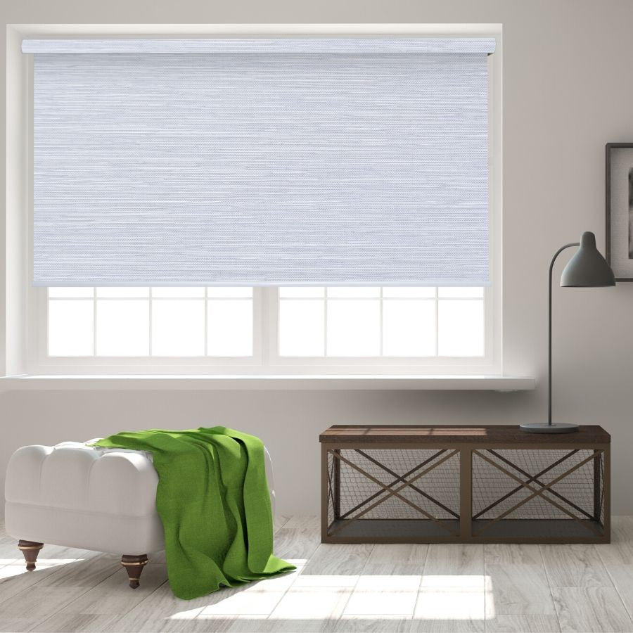 B-BB03 Grey Bixby Premium Blackout Roller Shades Blinds