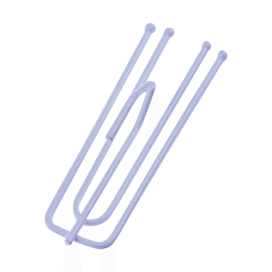 Curtain Pleat Hooks - 12pcs
