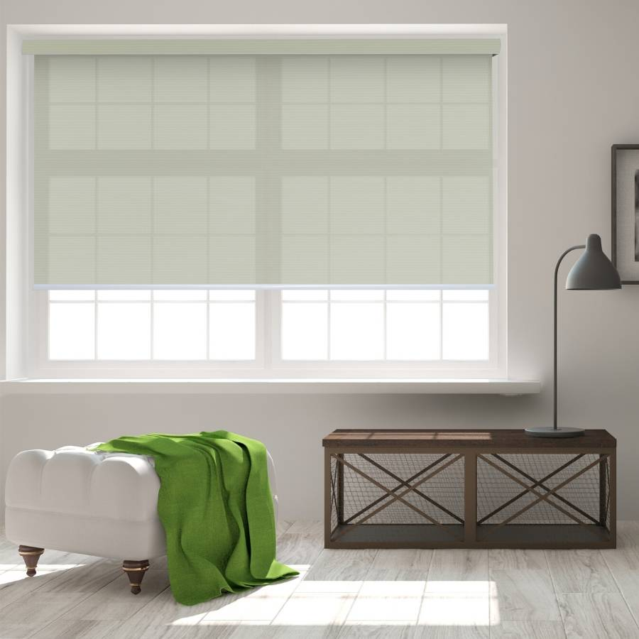 B-SC03 Yellow Sacco Light Filtering Roller Shades Blinds