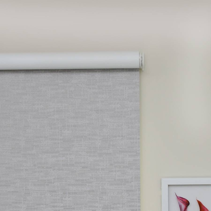 B-BN03 Grey Boone Blackout Roller Shades Blinds