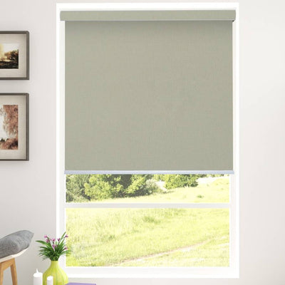 B-CB05 Green Cuba Classic Fabric Roller Shades Blinds