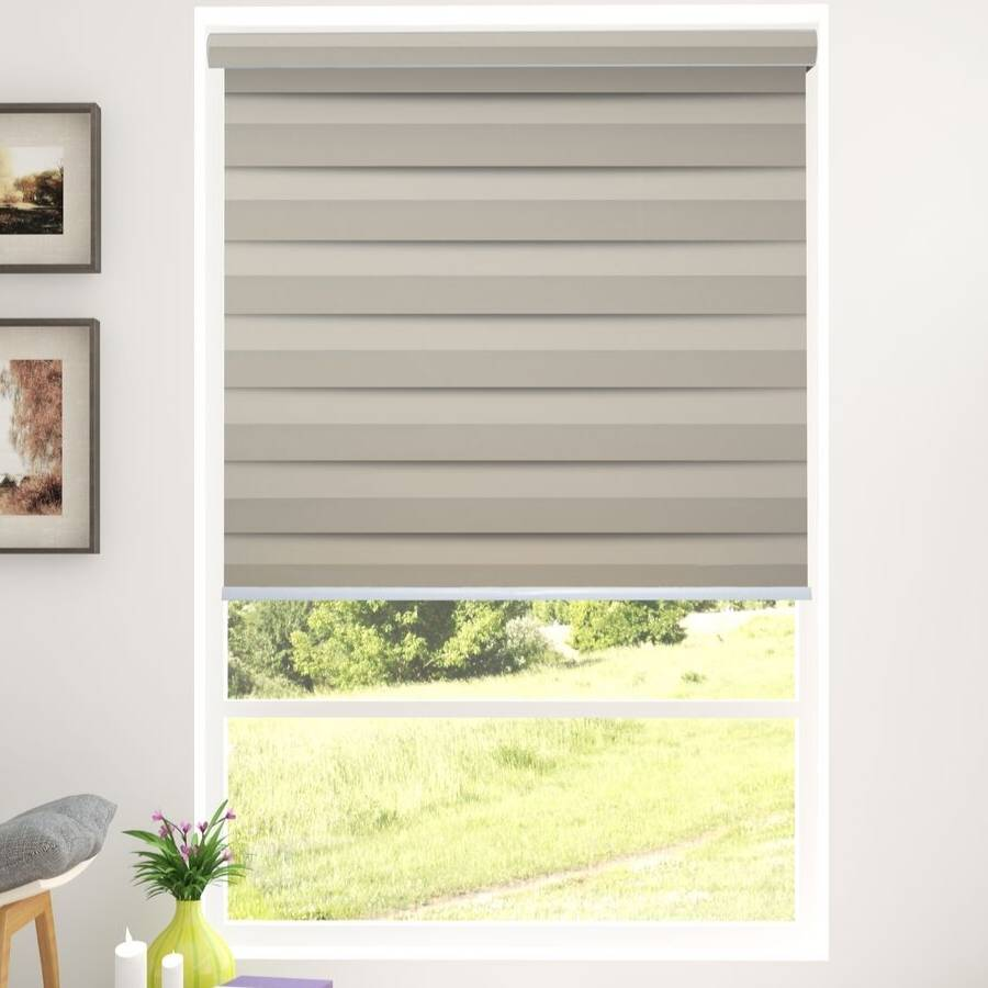 Z-BJ02 Gold Bijou Premium Blackout Zebra Shades Blinds