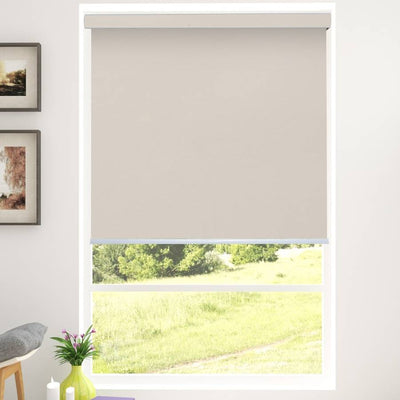 B-BW10 Sand Blackwell Vinyl Waterproof Blackout Roller Blinds