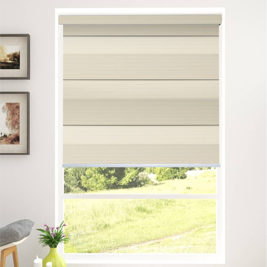 Z-BD02 Yellow Bardo Zebra Shades Blinds