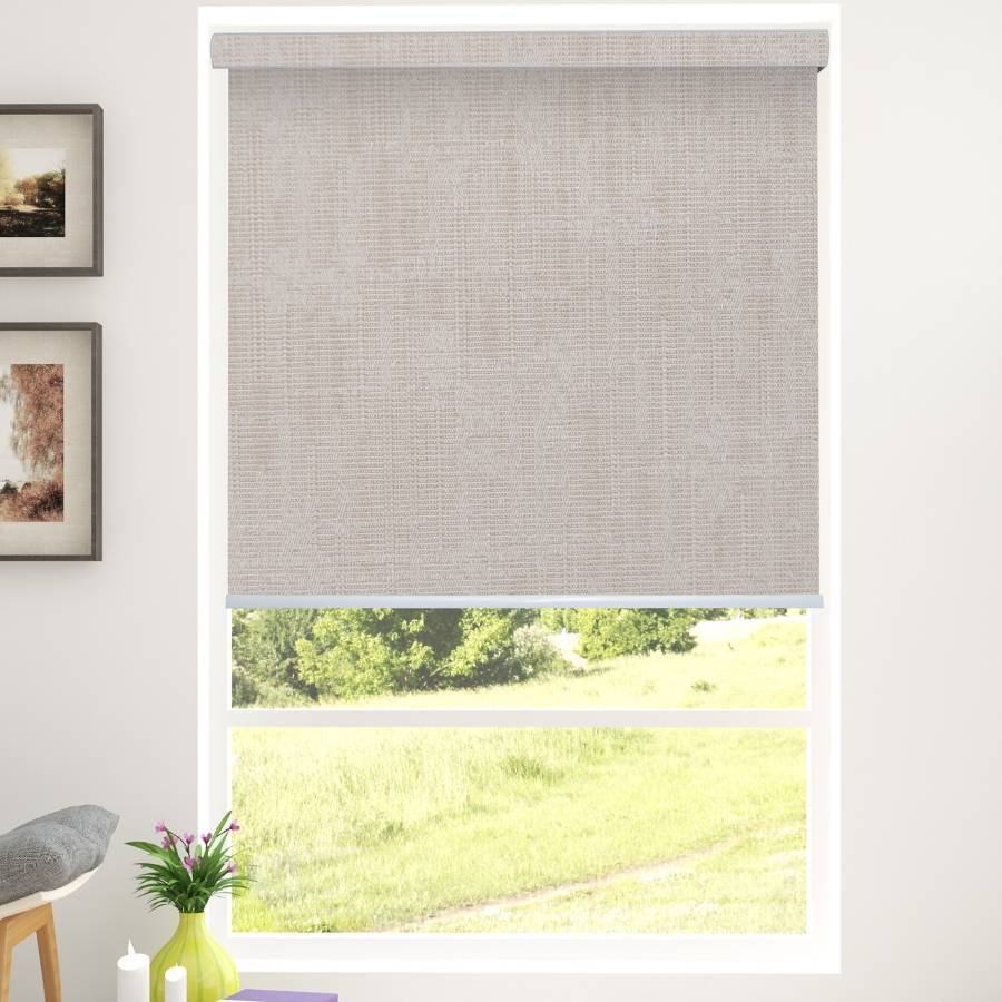 B-BN02 Brown Boone Blackout Roller Shades Blinds