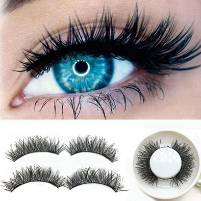 Magnetic 3D False Eyelashes Extension