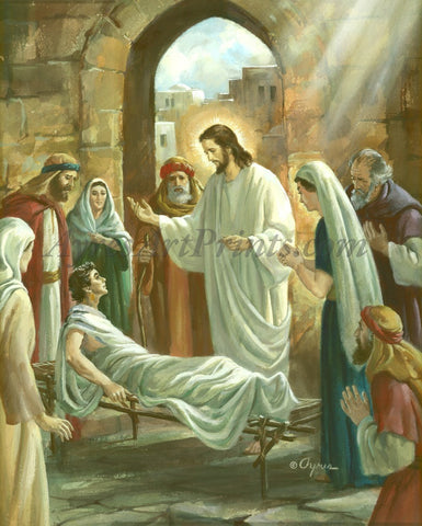 Jesus Heals The Crippled Man