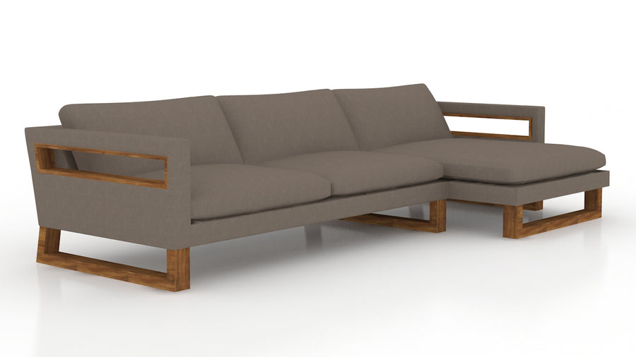 Leftbank Sofa/Chaise (Right)