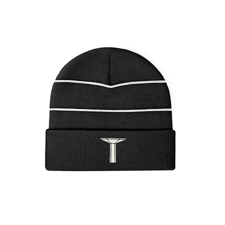 LLSB Pillar Beanie 3M Reflective Black