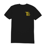 LLSB Pillar T-Shirt Black & Yellow
