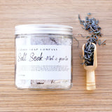 Mint and Green Tea Bath Salts
