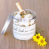 Lemon & Chamomile Essential Oil Bath Salt Soak