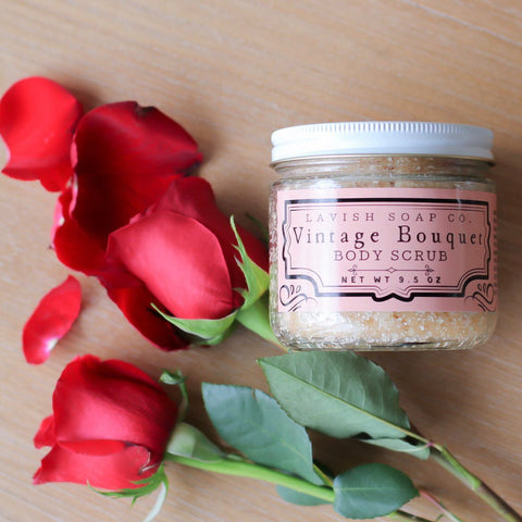 Vintage Bouquet Body Scrub - Only Available for a Limited Time!