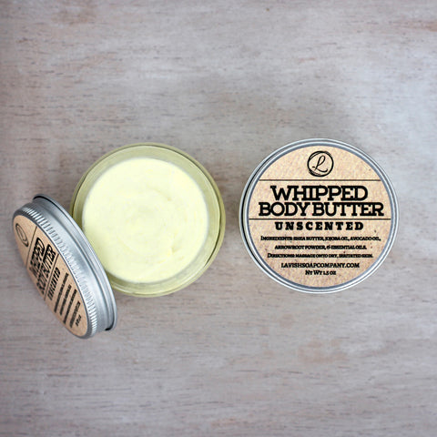 Whipped Unscented Body Butter