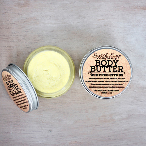 Whipped Citrus Body Butter
