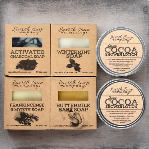 Soap + Lotion Bar Combo Pack