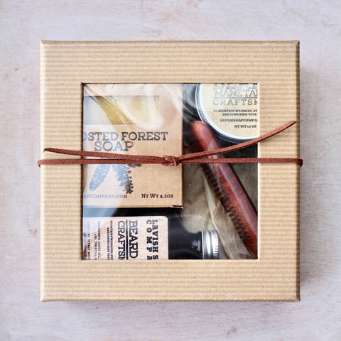 Beard Care Grooming Kit / Gift Box