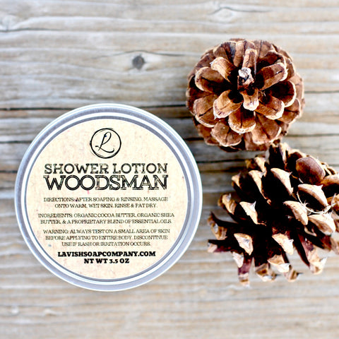 Men's Woodsman Lotion Bar