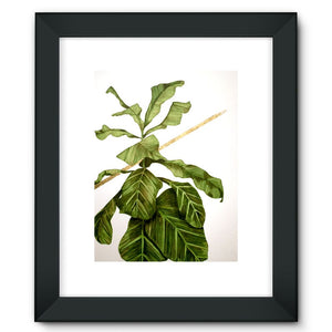 And & And Framed Fine Art Print