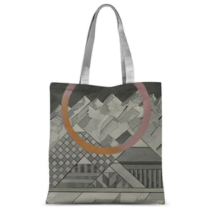 Geometry's Mountain Sublimation Tote Bag