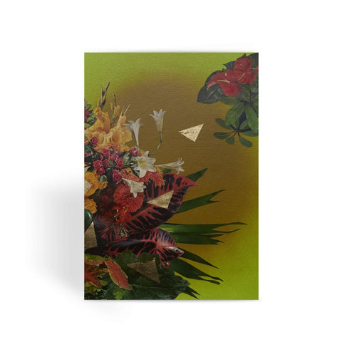 Jungle Gold Greeting Card