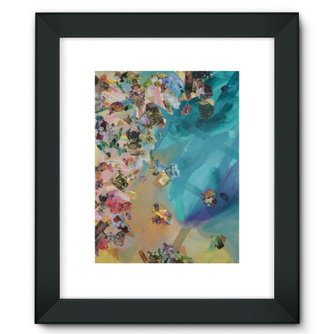 Mineral Icecream Framed Fine Art Print