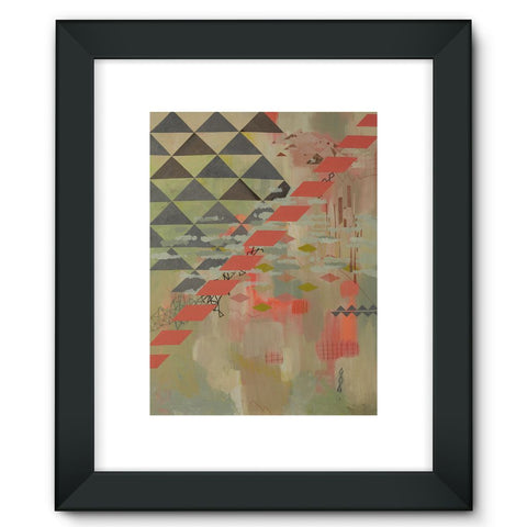 Waiting Framed Fine Art Print