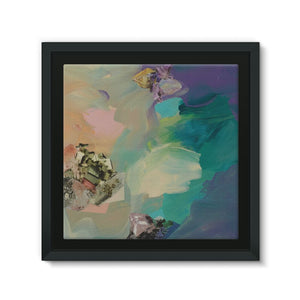 Mineral Meteor Framed Canvas