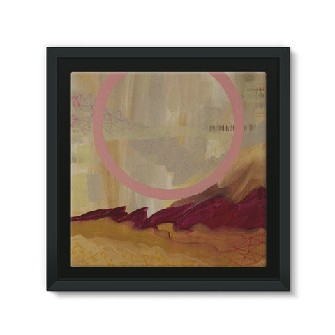 Desert Found Framed Canvas