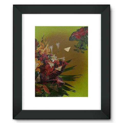 Jungle Gold Framed Fine Art Print