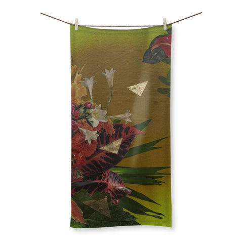 Jungle Gold Beach Towel