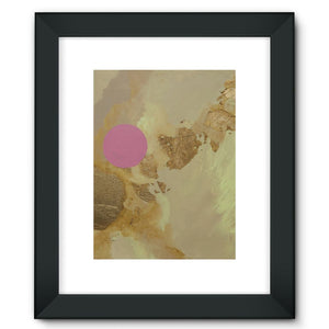 Cascading Up Framed Fine Art Print