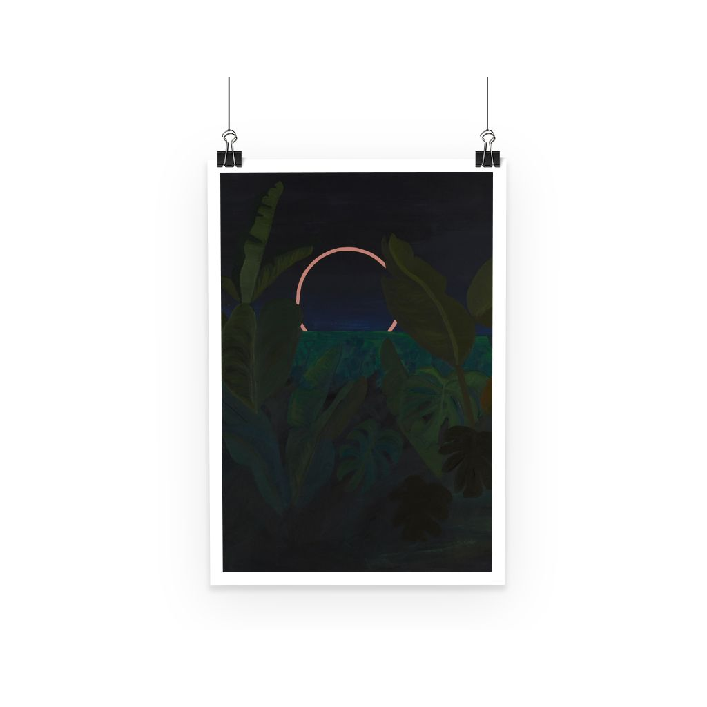 Jungle Eclipse Poster