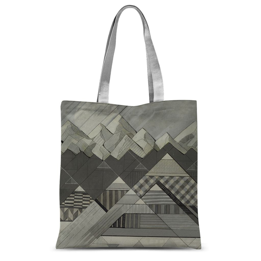 Geometry's Valley Sublimation Tote Bag