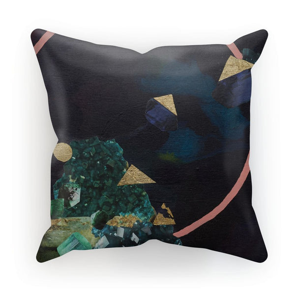 Indigo Found Cushion