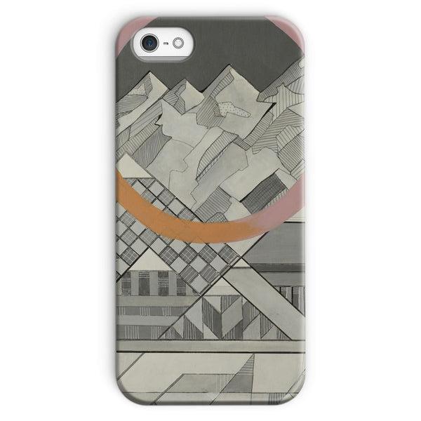 Geometry's Mountain Phone Case