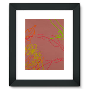 Paradise Drift Framed Fine Art Print