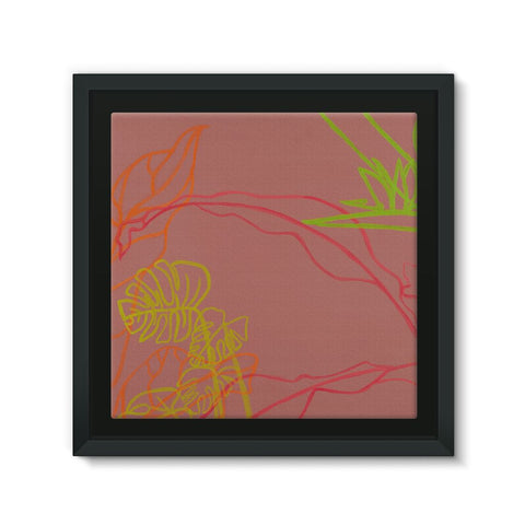 Paradise Drift Framed Canvas
