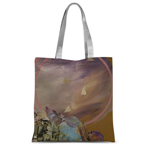 Mineral Moon Sublimation Tote Bag