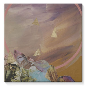 Mineral Moon Stretched Canvas