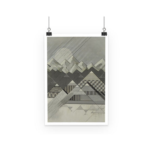 Geometry's Valley Poster